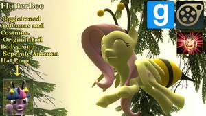 Gmod/SFM Ponies [DL]: FlutterBee (FlutterShy Bee)