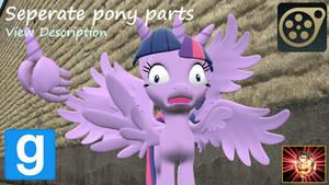 Gmod/SFM Ponies [DL]: Pony Parts
