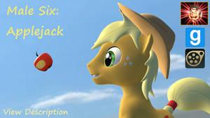 Gmod/SFM Ponies [DL]: Applejack Male