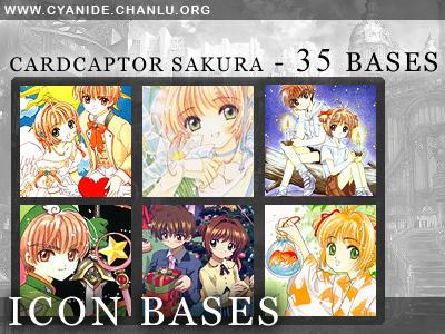 Icon Bases - Cardcaptor Sakura by CyanideGraphics