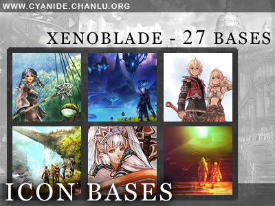 Icon Bases - Xenoblade by CyanideGraphics