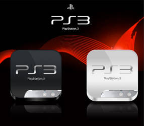 PlayStation 3 icon - iOS style by Hardgamerpt