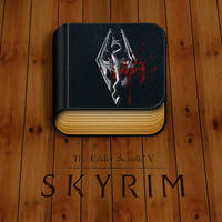 The Elder Scrolls V: Skyrim icon by Hardgamerpt