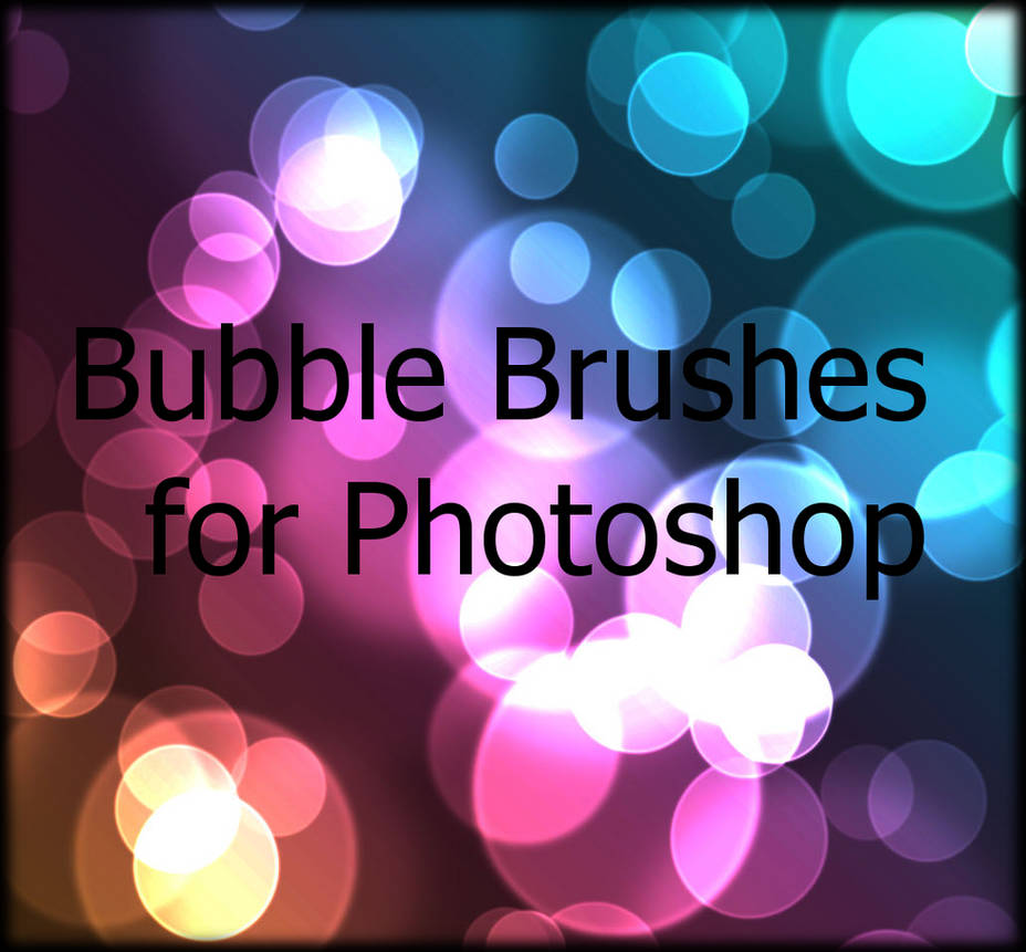 Bubbles brushes for Photoshop by CutieSky