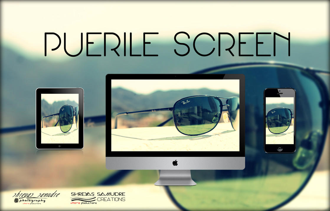 Puerile Screen by CompBomb