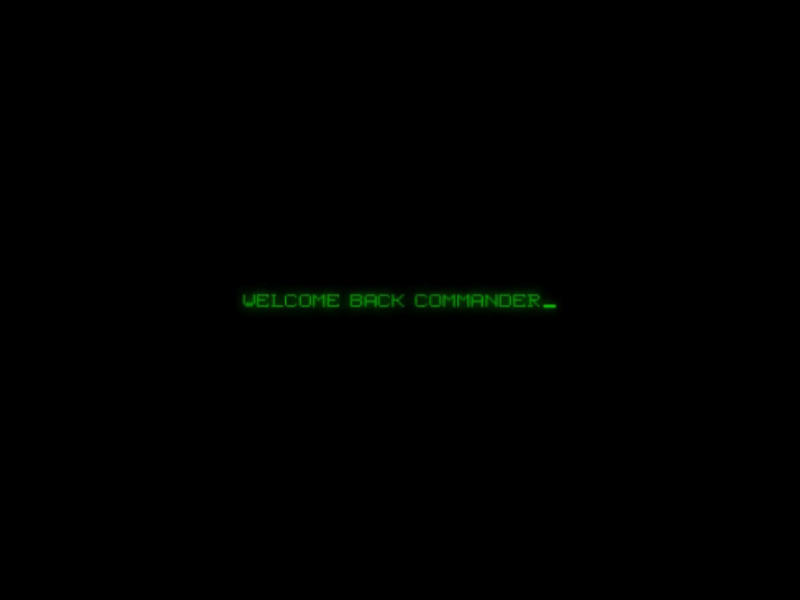 welcome back commander_ by ApexiusConfluxo