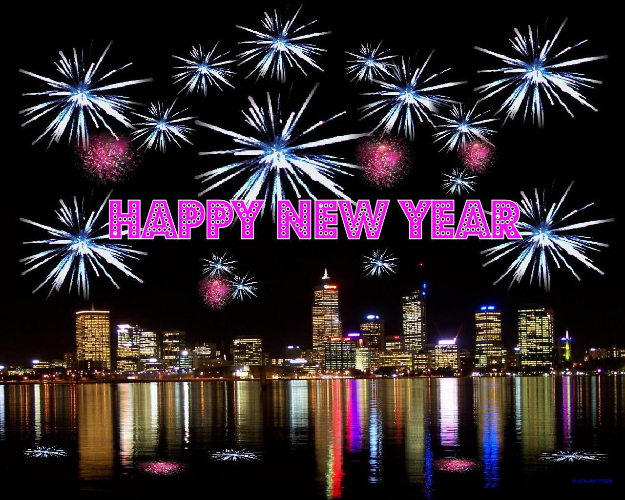 Happy New Year by AzDude