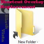 Black Vista Shortcut Overlay by Rhetticus