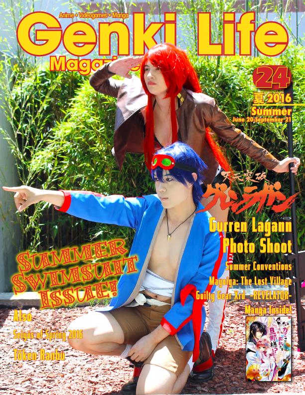 Genki Life Magazine 24 - Summer 2016 by studioartmix