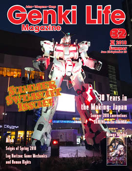 Genki Life Magazine 32 - Summer 2018