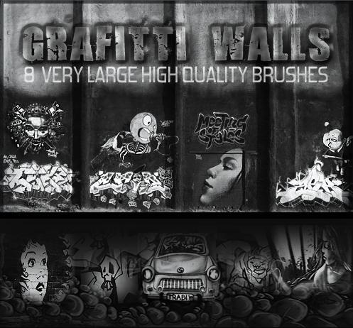 Graffiti Wall Brushes