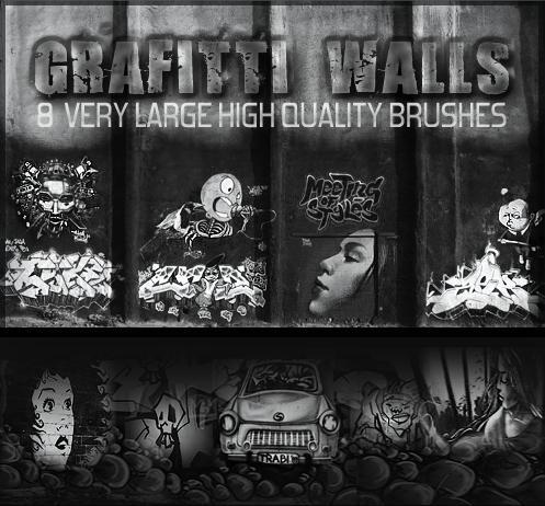 Graffiti Wall Brushes by SweetSoulSister ... & Graffiti Wall Brushes by SweetSoulSister on DeviantArt