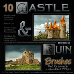 Castle and Ruins Brushes