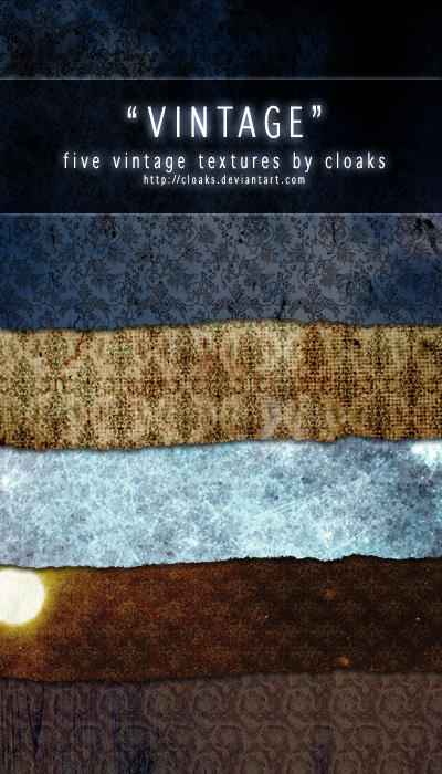 Vintage Texture Pack by cloaks