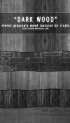 Dark Wood Texture Pack by cloaks