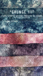 Grunge III Texture Pack by cloaks