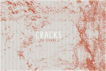 Cracks by cloaks
