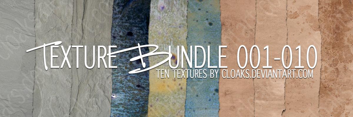 Texture Bundle 1-10 by cloaks