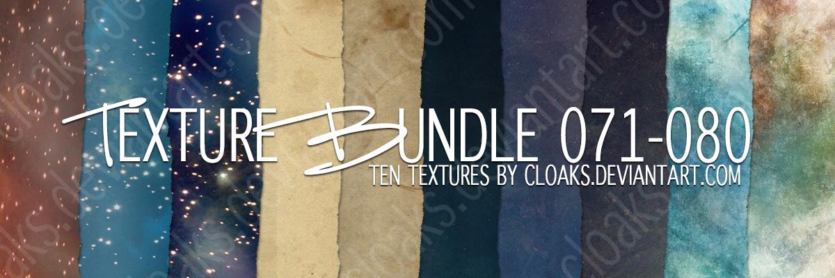 Texture Bundle 71-80 by cloaks