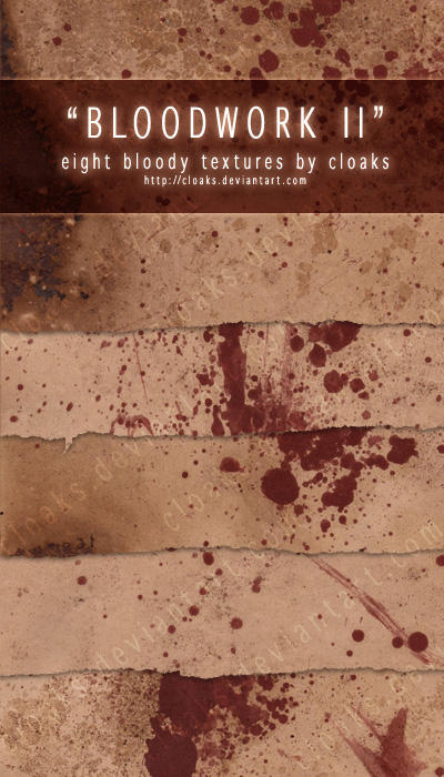 Bloodwork II Texture Pack by cloaks