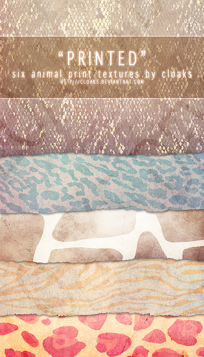 Printed Texture Pack
