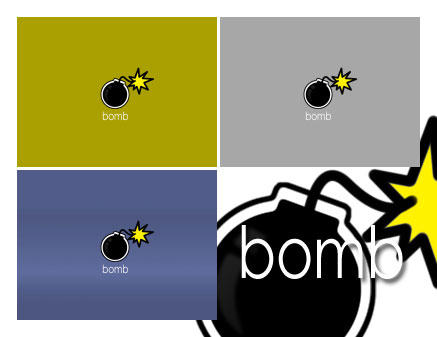 bomb - wallpack by mimeryme