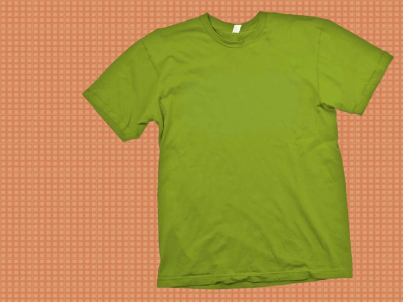 Green T-Shirt Template