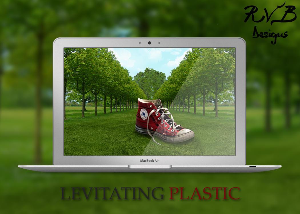 Levitating Plastic - River Black Designs
