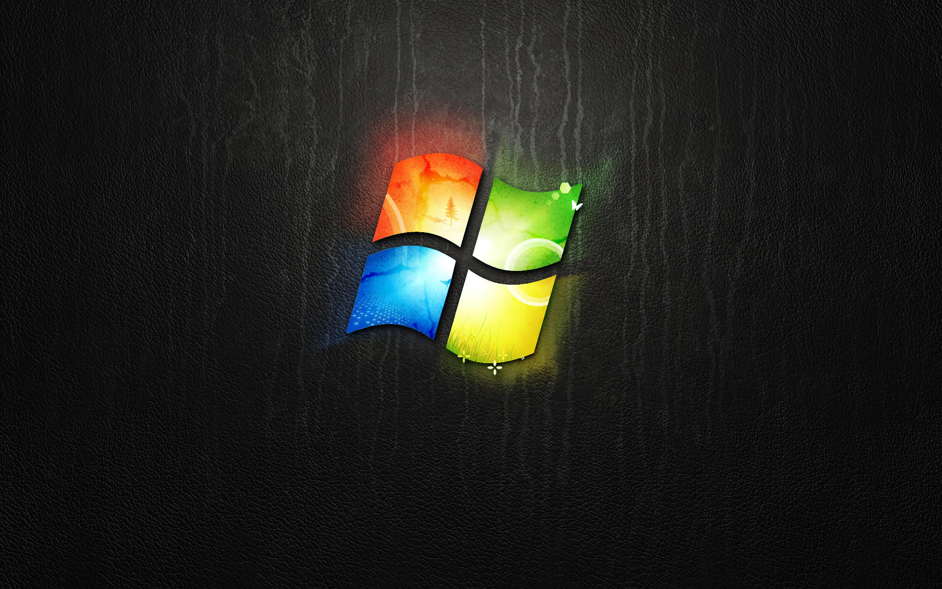 Dark Windows 7 Wallpaper by giannisgx89