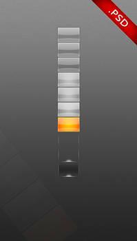 Longhorn Taskbar Buttons PSD