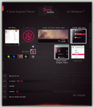 Zune QuickPlay for Win7