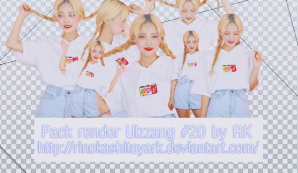 Pack render Ulzzang #20 by rinokashitoyaRK