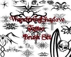 WS Tattoo Brush Set by DestroyingAngels