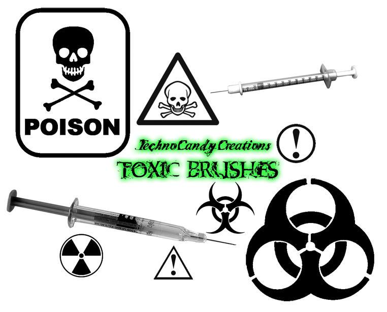 Toxic Brush Set by DestroyingAngels