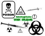 Toxic Brush Set