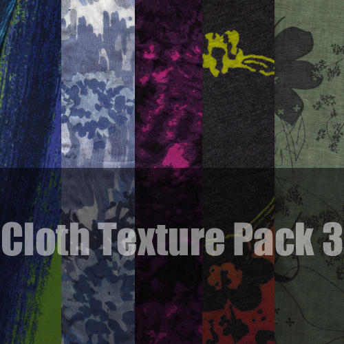 Cloth Texture Pack 3 by bjorkubus