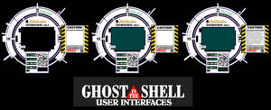 Ghost in the Shell User Interface HUB