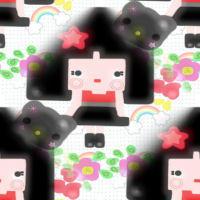 LovelyLolita Background Set by mymelody1