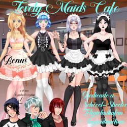 Lovely Maids Cafe by HatsuneMiku12000