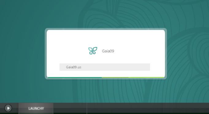 Gaia09 Launchy by novoo
