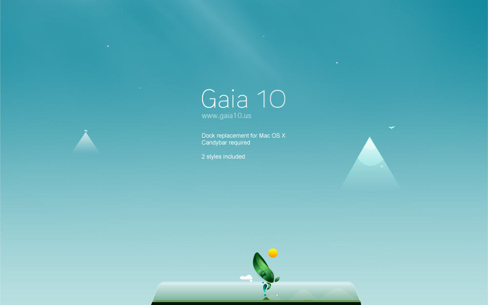 Gaia10 OS X Dock by novoo