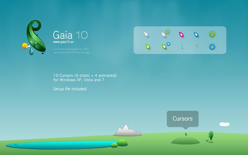 Gaia10 Cursors by novoo