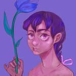 Flower Girl - Progress GIF