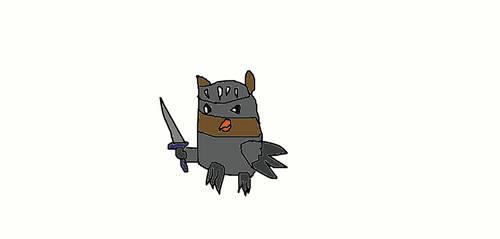 An Owly Knight