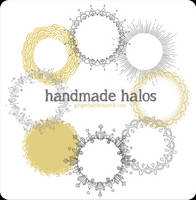 Handmade Halos brush set by lily-fox