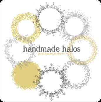 Handmade Halos brush set