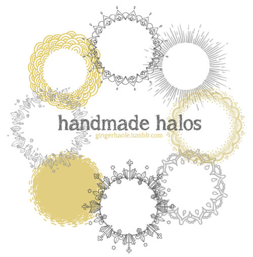 Handmade Halos brush set by lily-fox