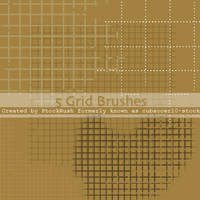 Photoshop Grid Brush Pack by StockRush
