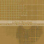 Photoshop Grid Brush Pack