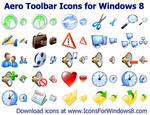 Aero Toolbar Icons for Windows 8